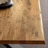 tavolo fgf finitura groove bark scortecciato
