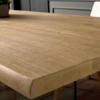 tavolo fgf finitura natural bark scortecciato