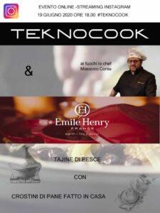 Emile Henry evento Teknocook